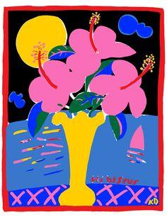 Hibiscus, 1984