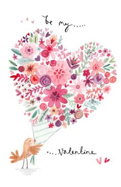 Felicity French - FF Bird And Heart Bouquet