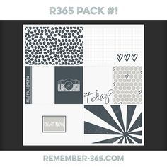 Quality DigiScrap Freebies: Pocket Cards freebie from Remember 365