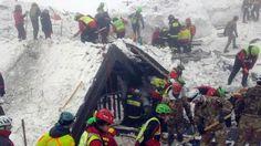 Número de mortos em hotel soterrado na Itália sobe para 24