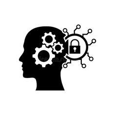 digital human head, brain, technology, head, memory, creative technology mind, artificial intelligence black icon stock illustration Social Media Buttons, Human Head, Artificial Intelligence, Orange Color, Brain, Design Inspiration, Mindfulness, Memories, Technology