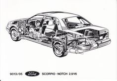 Ford Scorpio 2.9 V6 Notchback (Photo # 9013/05)