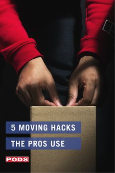 With a little help from your #PODS container and these 5 moving hacks, you'll be moving like a pro in no time at all. Are you #movingday ready? #ContainingTheChaos Moving Hacks, Moving Tips, Moving Checklist, Too Much Coffee, Moving And Storage, Moving Day, Getting Organized, Stress