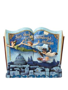 Disney Traditions Off to Neverland - Peter Pan Storybook | very.co.uk
