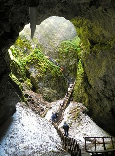 Scărișoara Cave, #Romania Do you need an #accountant in Romania? http://www.romanian-accountants.com/double-taxation-avoidance-treaties-signed-with-romania