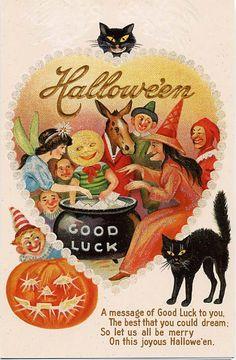'Good Luck Hallowe'en'