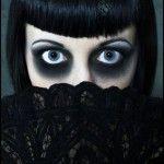 Spooky halloween eyes