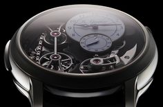 Romain Gauthier Logical One Natural Titanium Watch