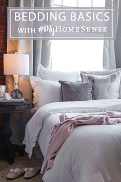 Getting a great night sleep starts with great basics: pillows, sheets and bedding. Dive into our bedding shopping guide and know your options before visiting HomeSense.