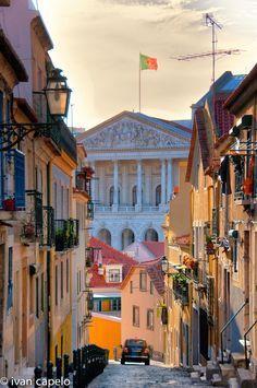 """Lisboa"", Portugal by ivan capelo, via 500px."