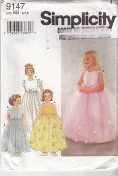 Flower Girl Dress Pattern Jacket Full Skirt by HoneymoonBus, $11.99