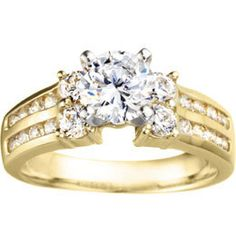 Diamond Jewellers :: .52 RD DIA ENGAGEMENT All items are available is 14K and 18K white and yellow gold, and also in platinum and paladium.  Call for price in these metals.