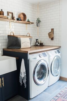 modern laundry room inspiration