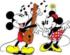Topolino (Mickey Mouse) e Minnie walt disney