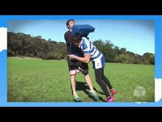 How 2 - Rugby League Tackling - YouTube