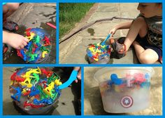 Random Handprints - A NYC Mom Blog... live from New Jersey: An Easy Way to Entertain a Toddler on a Hot Summer Day