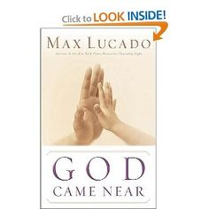Max Lucado is amazing of course, and his insights to the concept of God becoming man is astounding!