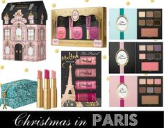 Beauty Buzz: Too Faced Christmas in Paris Holiday 2015