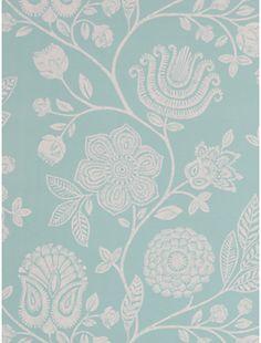 Harlequin Bonita Trail Wallpaper, Teal, 110009 on shopstyle.co.uk