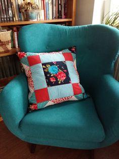 pillow   vankúš   patchwork