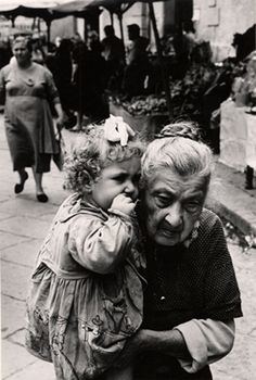 La Nonna, Naples, 1961 by Herbert List