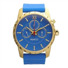 Gorgeous blue time piece fun/quirky