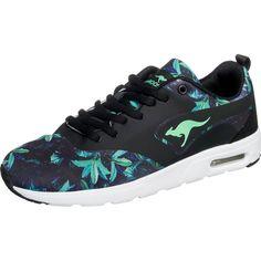 #KangaROOS #Damen #KangaCore #Sneakers #mischfarben / #schwarz - Komfortabel und federleicht präsentieren sich diese KangaROOS KangaCore Sneakers mit atmungsaktivem Mesheinsatz.