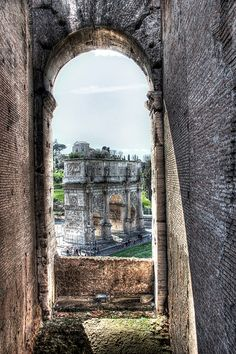 Colosseum HDR - Rome, Italy