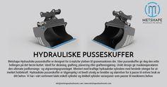 METSHAPE Hydrauliske Pusseskuffer er designet for å matche ytelsen til gravemaskinen din. Våre pusseskuffer gir deg den rette hellingen på det første kuttet. Våre produkter er alle laget av Hardox stål av høy kvalitet for holdbarhet, ytelse og pålitelighet.  #MetshapeAttachments #Metshape #Attachments #Scandinavia #Excavator #JCB #Komatsu #BobCat #Yanmar #Volvo #Hitachi #Hardox #HardoxSteel #HardoxInMyBody #Norway #Norge #HydrauliskePusseskuffer #Pusseskuffer #TiltBucket