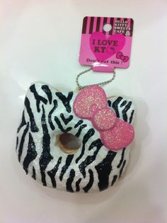Hello Kitty Deco Doughnut Squishy                       not deco also can  no defects