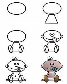 bebê dos desenhos animados | desenho