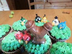 Angry Birds cake - birds