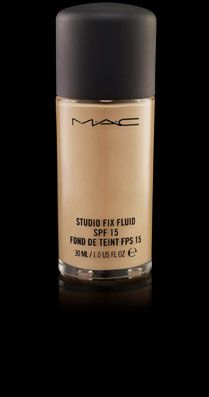 MAC Studio Fix Fluid SPF 15 - A modern foundation that combines a natural matte finish and medium-buildable coverage with broad spectrum UVA/UVB SPF 15.