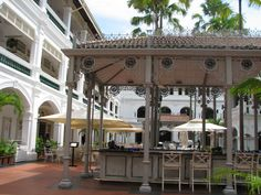 Raffles, Singapore- if only.