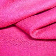 Farb-und Stilberatung mit www.farben-reich.com - Linnen In Fuchsia Kleur.