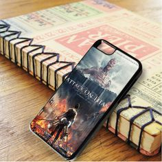 Attack On Titan Cover Movie Poster iPhone 6|iPhone 6S Case