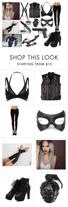 """The Masked One AKA Luna Knight"" by xx-alisha-xx on Polyvore featuring Myla, Diesel Black Gold, Tripp, Masquerade, women's clothing, women's fashion, women, female, woman and misses"