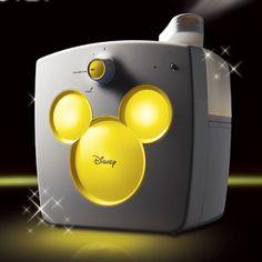 디즈니 미키 LED 무드등 옐로우 가습기 WDH-951LY,디즈니,가습기,WDH-951LY