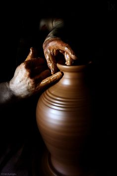 The flawless materials and ancient techniques that make Boca do Lobo unique. We … The flawless materials and ancient techniques that make Boca do Lobo unique. We invite you to take a look at our workshop and see for yourself. The Potter's Hand, Brown Aesthetic, Black Backgrounds, Black And Brown, Deep Brown, Brown Beige, Art Photography, Shadow Photography, Instagram