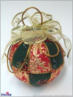 Bola de porex . #manualidades #pinacam #porex #navidad                                       www.manualidadespinacam.com
