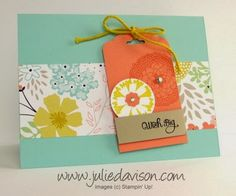 Sale-a-bration Sneak Peek: Petal Parade - Julies Stamping Spot -- Stampin Up! Project Ideas Posted Daily