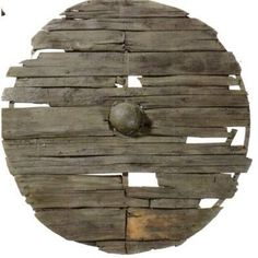 Although in Old English poetry the shields are always referred to as being made out of lime (linden-wood), archaeological discoveries instead indicate that this wood was used rarely, with alder, willow, and poplar being most common, and maple, birch, ash, and oak also being found.[85] The size of the shields varied widely, from between 0.3 to 0.92 m (1 to 3 ft) in diameter, although the majority fitted within a range of 0.46 to 0.66 m (1 ft 6 in to 2 ft 2 in) in diameter.[86] Similarly, the…