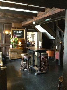 """See 454 photos from 5792 visitors about lively, beer, and historic pub. """"Amazing historic pub in its own courtyard, the oldest standing coach house in. Oak Restaurant, Restaurant Concept, Restaurant Design, Bar Pub, Cafe Bar, Irish Pub Decor, Pub Interior, Interior Ideas, Pub Design"""