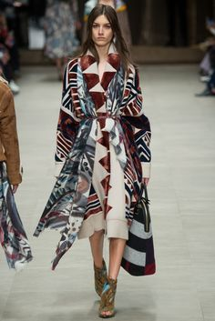 Burberry Fall 2014 ready-to-wear