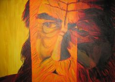 Akryl - Starzec 3 kolory Modern Art, Painting, Paintings, Contemporary Art, Draw, Drawings
