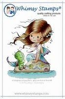 Whimsy stempel Wee Shelley