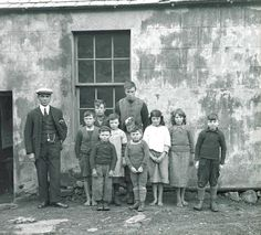 St. Kilda - Formal Portrait Of Islanders.