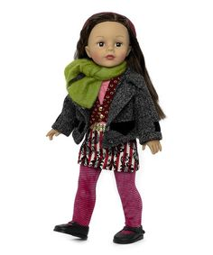 Look what I found on #zulily! Stripe & Paisley Favorite Friends Doll #zulilyfinds