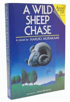 A Wild Sheep Chase Advance Reading Copy Haruki Murakami 1989 Book