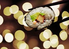 sushi - look at this awesome pic @Jenni Ross